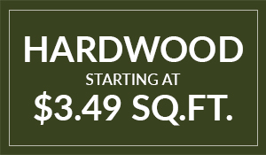 Hardwood Flooring on sale starting at only $3.49 sq.ft. - Get this amazing deal and others like it only at BK Flooring in Evansville, Indiana